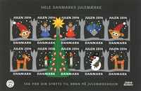 Denmark - Christmas Seal - Mint stamp