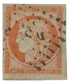 France 1850 - YT 5 - Oblitéré