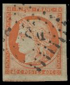 Frankrig - YT 5 - Stemplet