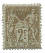 France - YT 105 - Neuf avec charnière