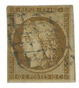 France 1850 - YT 1a - Oblitéré