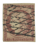 France - YT 6B - Oblitéré