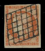 Frankrig - YT 5b - Stemplet