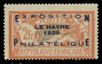 France 1929 - YT 257A - Neuf sans charnière
