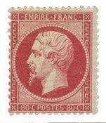 France 1862 - YT 24 - Neuf avec charnière