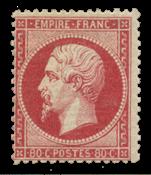 Frankrig 1862 - YT 24 - Ubrugt