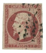 France 1855 - YT 18 - Oblitéré