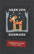 Dinamarca - Navidad 2014 - Carnet nuevo