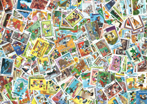 400 francobolli differenti Disney
