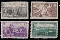 Frankrig 1940 - YT 466/469 - Ubrugt