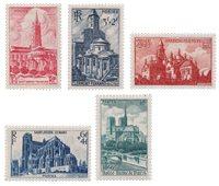 Frankrig 1947 - YT 772/776 - Ubrugt