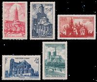 France 1947 - YT 772-76 - Neuf avec charnière