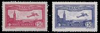 Frankrig 1930 - YT A5/A6 - Ubrugt