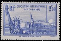 France 1940 - YT 458 - Neuf avec charnière