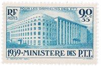 Frankrig 1939 - YT 424 - Ubrugt