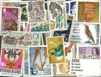 50 枚不同音乐专题邮票