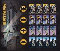 蝙蝠侠小版票