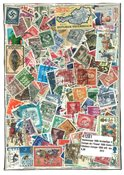 Western Europe - 1000 different stamps