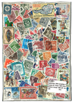 Western Europe 1000 diff. stamps