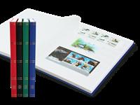 Classeur Leuchtturm BASIC - Couleur aléatoire - A4  - 32 pages blanches - couverture non ouatiné