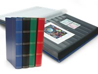Stockbook - Assorted colors - Size A4 - 60 black pages