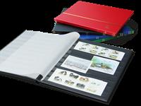Classeur Leuchtturm - couleurs variées - A4 - 16 pages noires