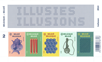 Belgien - Synsbedrag - Postfrisk miniark