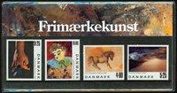 Danimarca - Arte filatelica - Souvenir folder