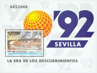 SPANIEN M/S EXPO`92 I SEVILLA