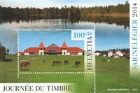 Switzerland - Stamp Day'14 - Mint souvenir sheet