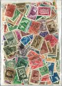 Hongrie - Lot de doublons de 1000 timbres émis avant 1950