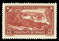 Monaco - 1933-37 - Y&T 123 postfrisk
