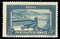 Monaco - 1933-37 - Y&T 125 postfrisk