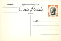 Monaco - Entier postal