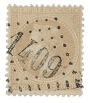 France 1863 - YT 28A - Oblitéré