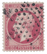 France 1862 - YT 24 - Cancelled