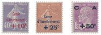 France 1927 - YT 249-51 - Neuf avec charnière