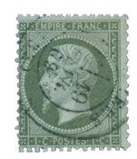 Frankrig 1862 - YT 19 - Stemplet