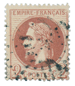 France 1863 - YT 26 - Cancelled