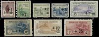 Frankrig 1922 - YT 162-69 - Ubrugt