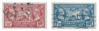 France 1927 - YT 244-45 - Oblitéré