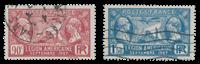 Frankrig 1927 - YT 244-45 - Stemplet