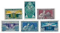Frankrig 1924 - YT 210-15 - Stemplet