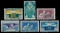 France 1924 - YT 210-15 - Oblitéré