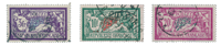 France 1925 - YT 206-08 - Oblitéré