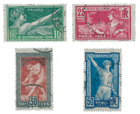 France 1924 - YT 183-86 - Oblitéré