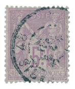 France 1876 - YT 95 - Cancelled