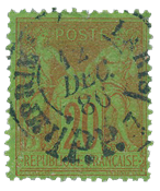 France 1876 - YT 96 - Cancelled