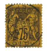France 1876 - YT 99 - Cancelled