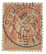 France 1876 - YT 94 - Cancelled